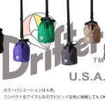 Drifter ドローストリングポーチが近日再入荷です!