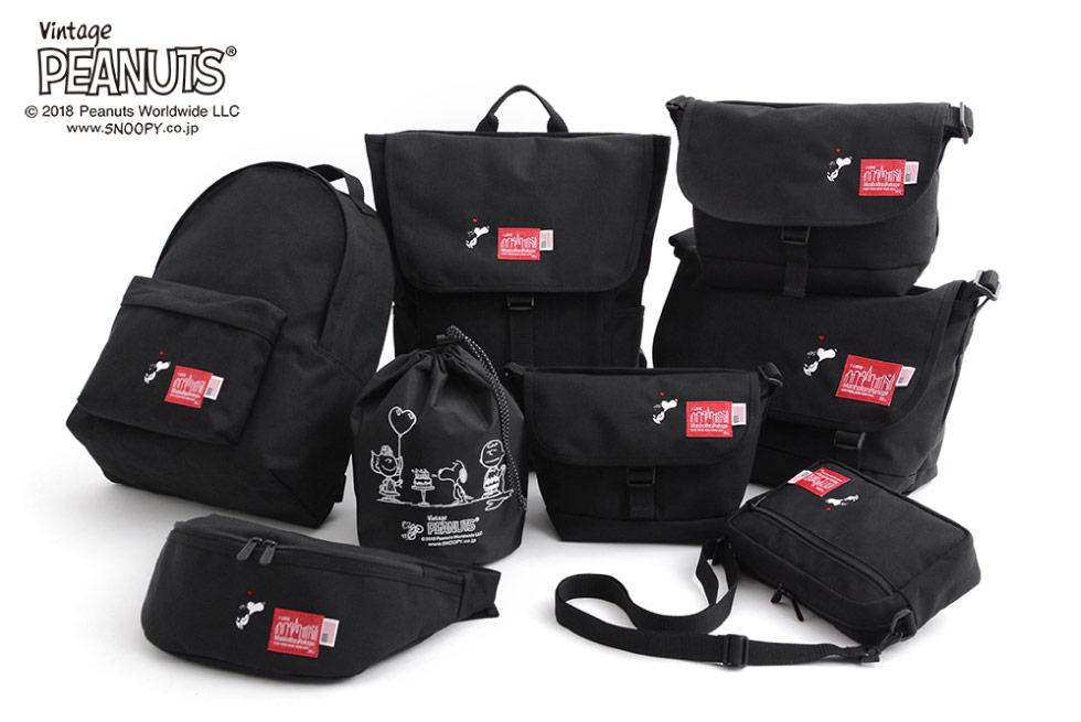 (マンハッタンポーテージ) Manhattan Portage ×PEANUTS Big Apple Backpack MP1210JRPEANUTS18